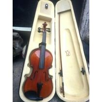 Violin Barnizado Clasico Nuevo Con Estuche