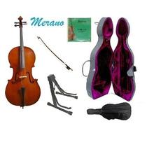 Violonchelo Chelo Violoncelo + Accesorios 3/4 Musica