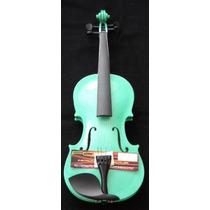 Violin 4/4 Ald Incluye Estuche Arco Brea Y Puente