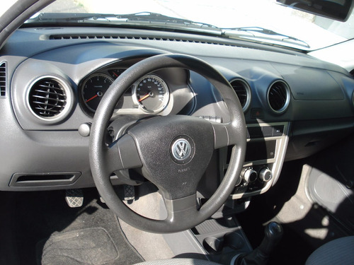 Volkswagen Gol 2012 Blanco 4 Puertas A/c Abs B/a