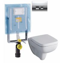 Promokit Keramag Geberit Wc Pulsador Cisterna Kombifix