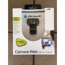 Camara Web Acteck Glow View