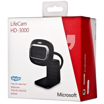 Webcam Microsoft Lifecam Hd-3000, Video Hd 720p Widescreen