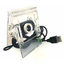 Cámara Web Webcam Usb Clip Visión Nocturna Infrarroja 2mpx