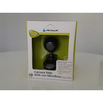 Camara Web 300k Con Microfono Marca Acteck Modelo Cw-760