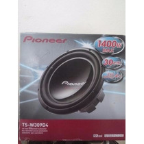 Woofer Pioneer 12 Champion 4 Ohms Doble Bobina 1400 Whats