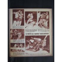 Articulo De La Revista Vea Tony Borne Vs Blue Demon 50