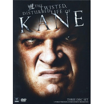 Dvd Wwe Kane Disturbed & Twisted (3 Dvds) Box Collection