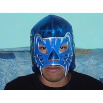 Mascara De Luchador Blue Panther P/adulto Semiprofesional