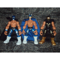 Lote 3 Luchadores Hijos Del Averno Mephisto Ephesto Patones