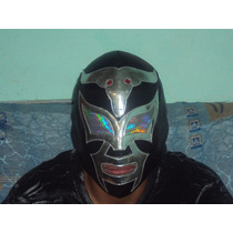 Wwe Mascaras De Lucha Libre Taurus Black P/adulto Profesiona