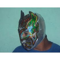 Wwe Cmll Aaa Mascara De Luchador Sin Cara Mizteziz P/adulto