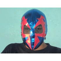 Marvel Mascara Tipo Luchador Spiderman 2099 Para Adulto