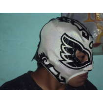Mascara D Luchador Angel Azteca Profesional Lame Lucha Libre
