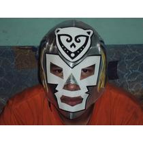 Mascara Luchador Dr. Wagner Jaguar De La Isla Autografiada.