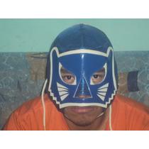 Wwe Cmll Mascara De Luchador Blue Panther Profesional Lucha