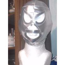 Mascara De Luchador Santo Enmascarado De Plata P/niño.