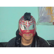 Wwe, Cmll Mascara Misterioso Jr. P/adulto Semiprofesional.