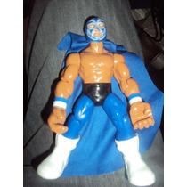 Figura Luchador Mexicano Huracan Ramirez En Muñeco Patones