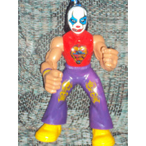 Figura Luchador Mexicano Killer Clown En Muñeco Patones