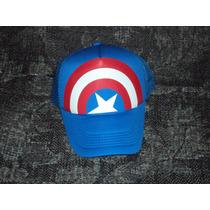 Gorras Marvel De Escudo De Capitan America Avengers Vengador