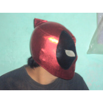 Marvel Mascara Tipo Luchador Deadpool Para Adulto