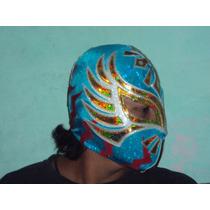 Mascara D Luchador Caristico Semiprofesional Adulto Sin Cara