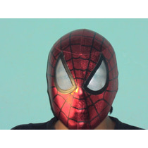 Marvel Mascara Spiderman Hombre Araña Para Adulto