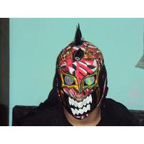 Mascara De Luchador Mephisto P/adulto Semiprofesional Averno