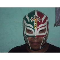 Mascara Luchador Rey Misterio P/adulto Semiprofesional Trico