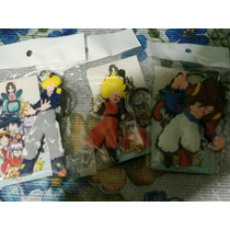 Llaveros Dragon Ball Z, Gt, Af.goku,vegeta,trunks,super Saya