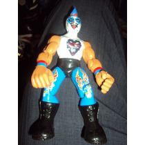 Figura Luchador Mexicano Psycho Clown En Muñeco Patones
