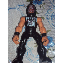 Figura Luchador Mexicano Damian 666 Perros En Muñeco Patones