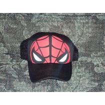 Gorras Marvel De Spiderman Hombre Araña