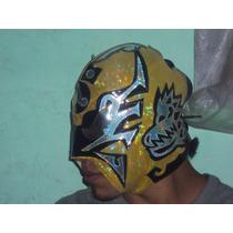 Wwe Cmll Mascara De Luchador Ultimo Guerrero Semiprofesional