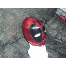 Marvel Mascara Tipo Luchador Deadpool Para Niño