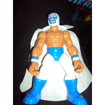 Figura Luchador Mexicano Mil Mascaras En Muñeco Patones