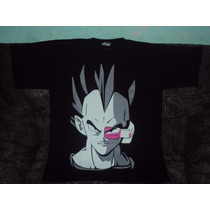 Playeras Dragon Ball Z Gt De Vegeta Rastreador Tall S Adulto