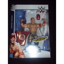 Figura Wwe Mattel John Cena Elite Serie 37 Gorra Y Playera