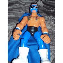 Figura Luchador Mexicano Lizmark Jr En Muñeco Patones