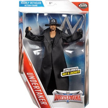 Wwe Figura Del Undertaker Elite Serie Wrestlemania De Mattel