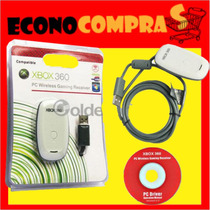 Receptor Inalambrico Para Windows De Accesorios De Xbox 360