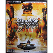Guía Oficial Saints Row 2 (2008) Ojo: No Es El Videojuego