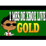 Xbox Live Gold 1 Mes 2x1