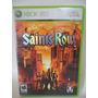 Saints Row Juego Xbox 360 Disco D835