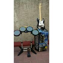 Rockband Batería, Guitarra & Micrófono