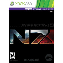 Mass Effect 3 N7 Collectors Edition Xbox 360 Blakhelmet Sp