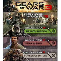 Season Pass, Dlc Gears Of War 3, Gow3, Gratis Skins!