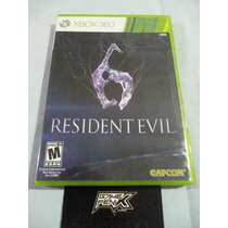 Resident Evil 6. Xbox 360. By Capcom. Sellado. Game Fenix