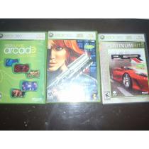 Cajas De Juegos Xbox 360 (arcade, Perfect Dark, Pgr)